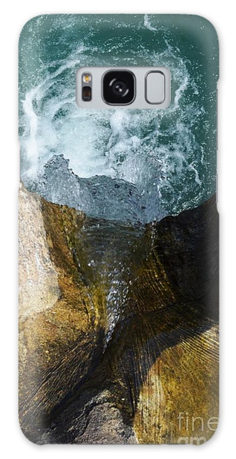 Waterfall Galaxy S8 Case featuring the photograph Looking Down by Deanna Cagle