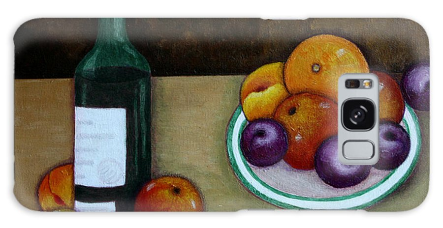 Looking For Cezanne Galaxy S8 Case featuring the painting Looking For Cezanne by Madalena Lobao-Tello