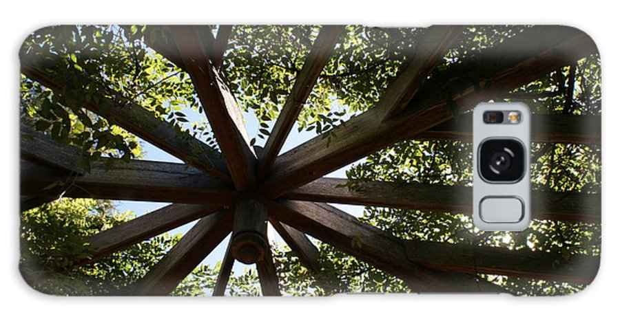Gazebo Photographs Galaxy S8 Case featuring the photograph Looking Up by Kristen Mohr