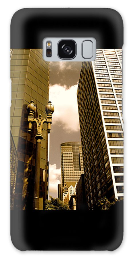 Los Angeles Prints Galaxy S8 Case featuring the photograph Los Angeles Downtown by Monique's Fine Art