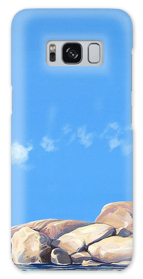 Rocks Galaxy Case featuring the painting Lost Voices by Hunter Jay