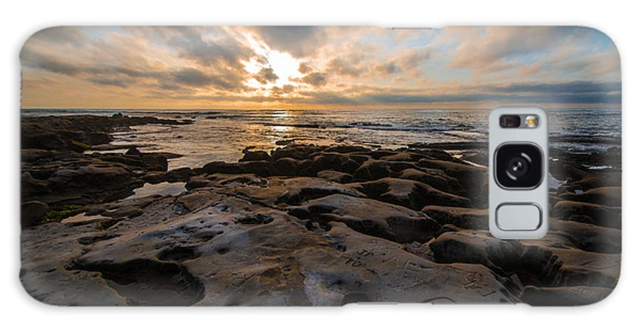 La Jolla Galaxy S8 Case featuring the photograph Love On The Rocks by William Murphy