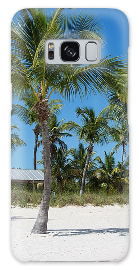 Beach Galaxy S8 Case featuring the photograph Lovely Beach On Key West East Side by John M Bailey