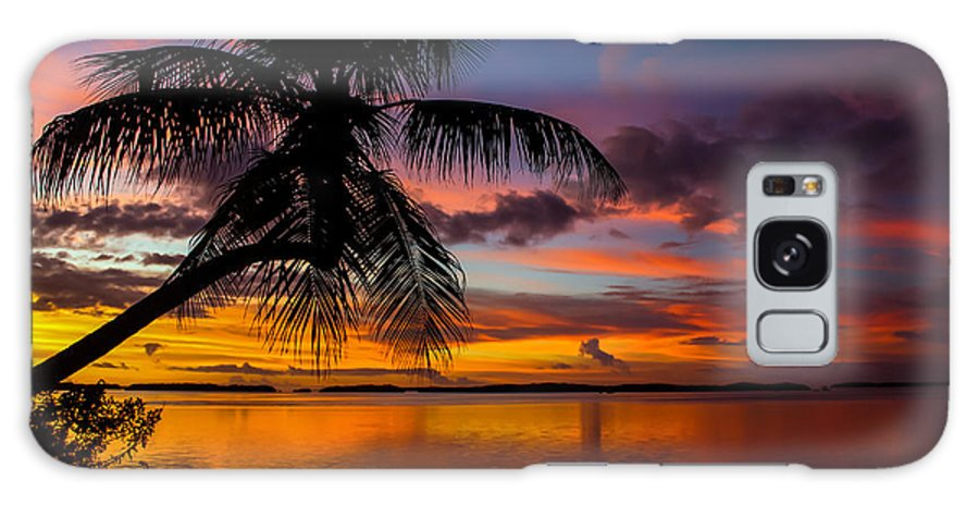 Beautiful Sunsets Galaxy S8 Case featuring the photograph Lovers Retreat by Rene Triay Photography