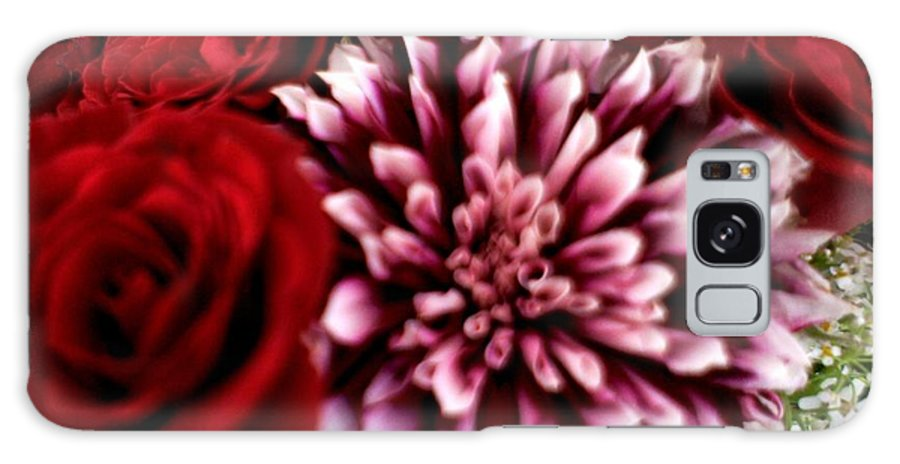 Flower Galaxy S8 Case featuring the photograph Lovr Flowers by Baljit Chadha