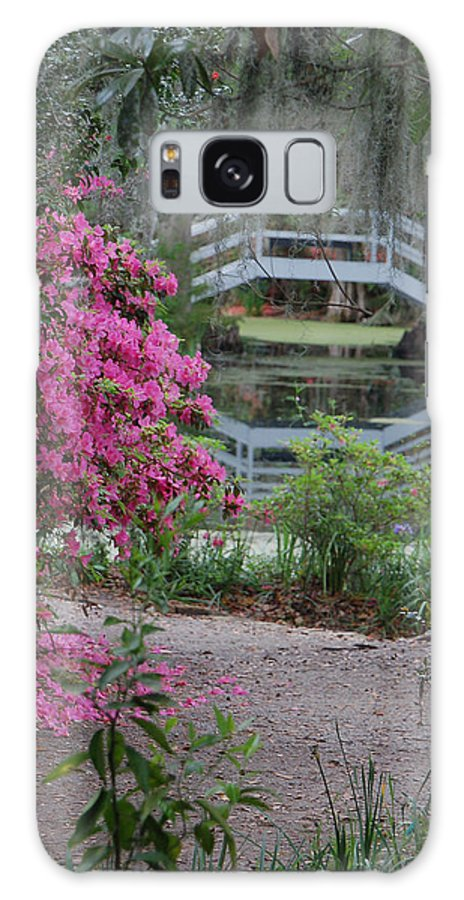 Garden Galaxy S8 Case featuring the photograph Lowcountry Series II - Ode To Monet by Suzanne Gaff