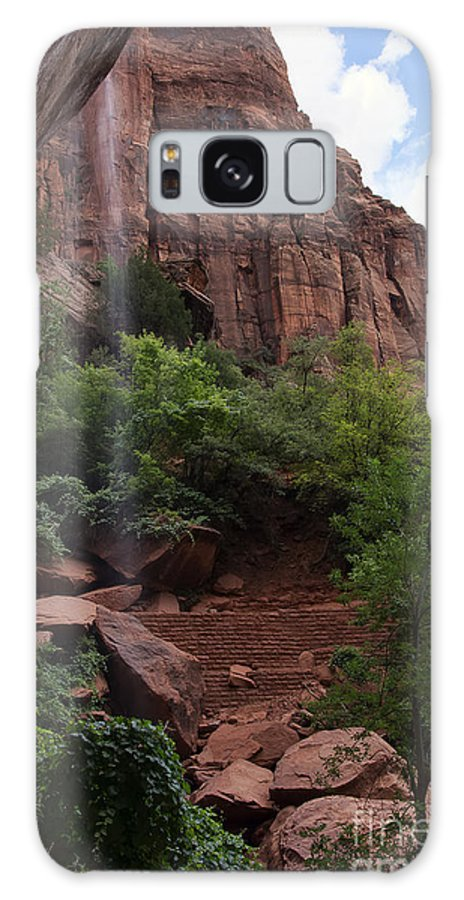 Zion Galaxy S8 Case featuring the photograph Lower Emerald Pool by Eddie Yerkish
