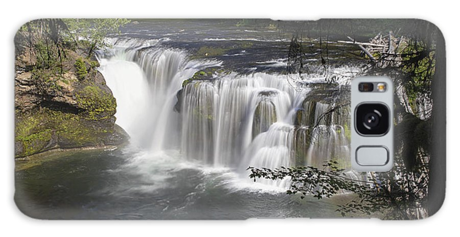 Lower Galaxy S8 Case featuring the photograph Lower Lewis River Falls by Jit Lim