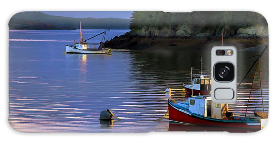 Lubec Galaxy S8 Case featuring the photograph Lubec Narrows by James Black