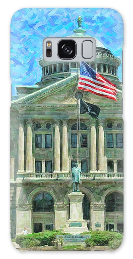 Lucas County Court House Galaxy S8 Case featuring the photograph Lucas County Court House by Jack Schultz