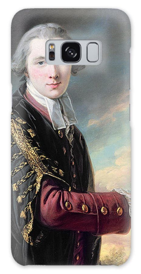 Wide Street Commissioner Galaxy S8 Case featuring the photograph Luke Gardiner 1745-98 Oil On Canvas by Francis Cotes