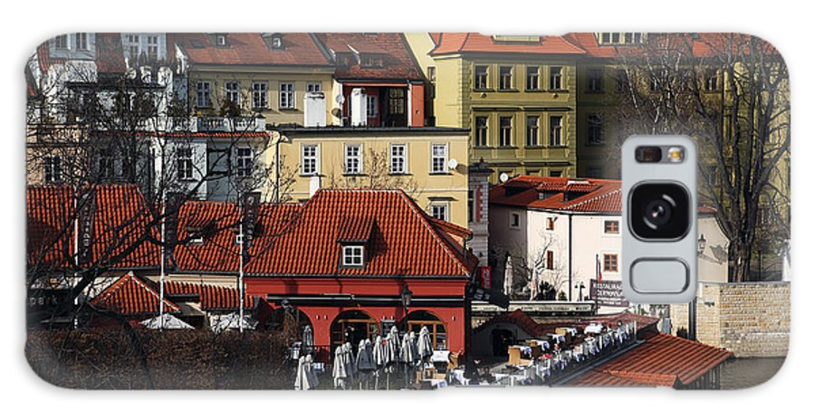 Lunch Time In Prague Galaxy S8 Case featuring the photograph Lunch Time In Prague by John Rizzuto