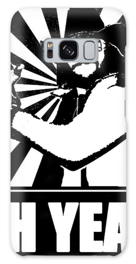 Macho Galaxy S8 Case featuring the digital art Macho Man Randy Savage by Jason Kimble