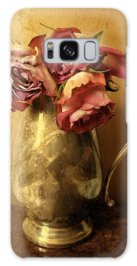 Flowers Galaxy S8 Case featuring the photograph Madeira Roses by Jessica Jenney