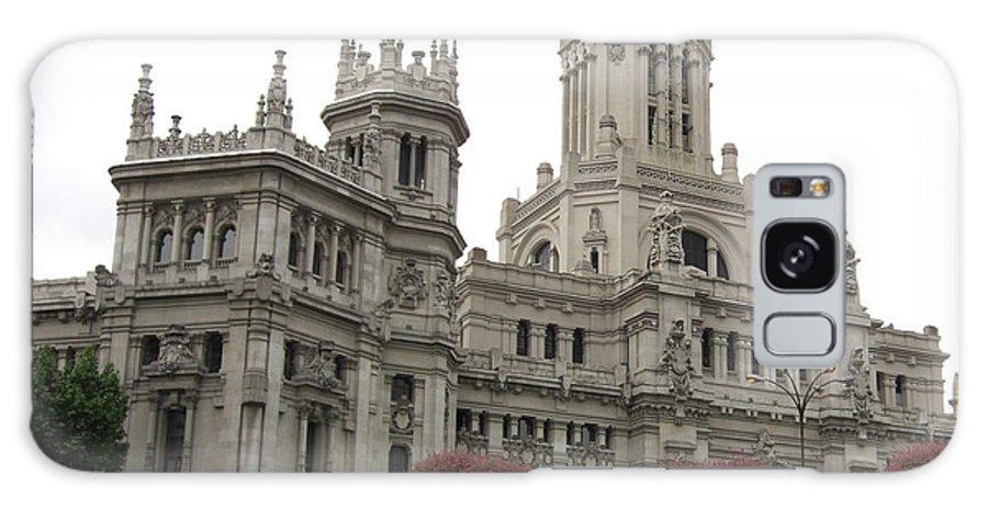 Madrid Galaxy S8 Case featuring the photograph Madrid City Hall by Deborah Smolinske