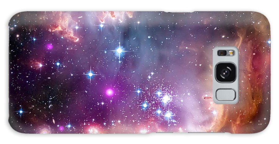 Universe Galaxy S8 Case featuring the photograph Magellanic Cloud 3 by Jennifer Rondinelli Reilly - Fine Art Photography