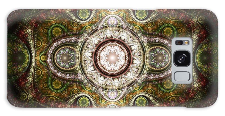 Malakhova Galaxy S8 Case featuring the digital art Magic Carpet by Anastasiya Malakhova