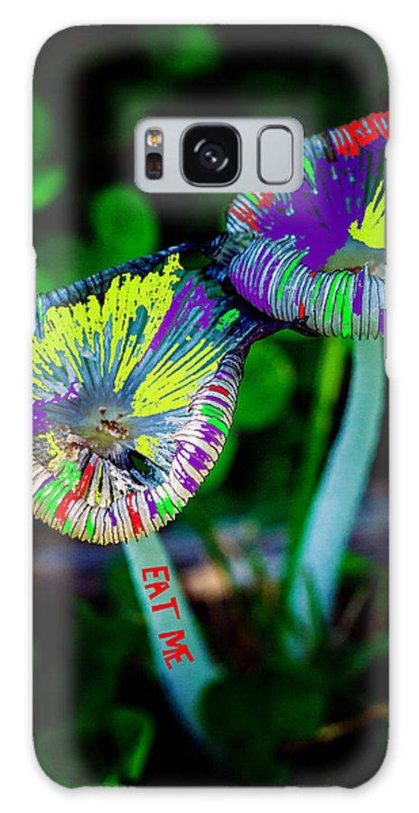 Mushrooms Galaxy S8 Case featuring the photograph Magic Mushrooms by Robert Storost