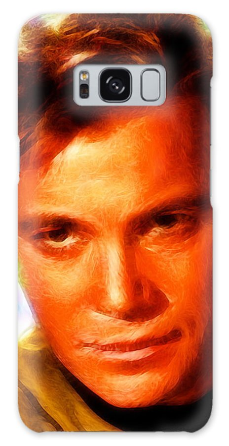 Kirk Galaxy S8 Case featuring the painting Magical Kirk by Paul Van Scott