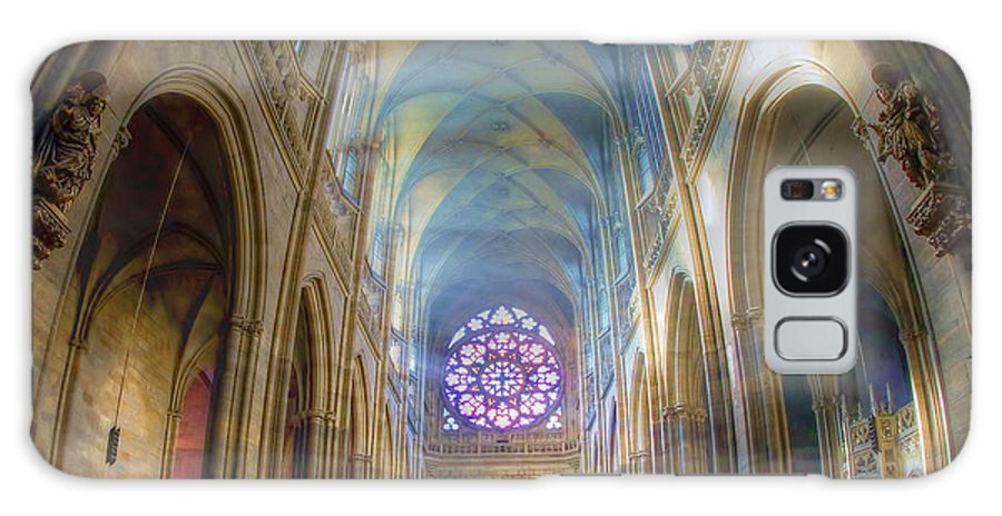 Church Galaxy S8 Case featuring the photograph Magical Light by Joan Carroll