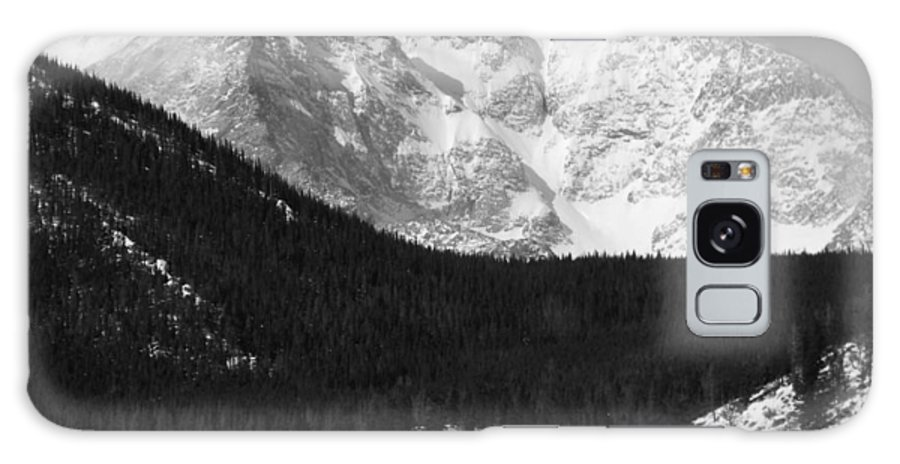 Black And White Galaxy S8 Case featuring the photograph Magnificent Mountain by Nicole Crabtree