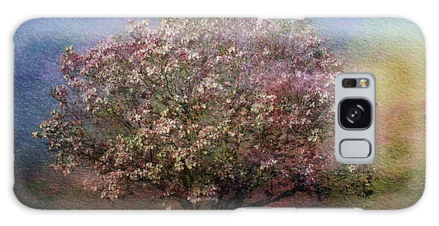 Tree Galaxy S8 Case featuring the photograph Magnolia Tree In Bloom by Sandy Keeton