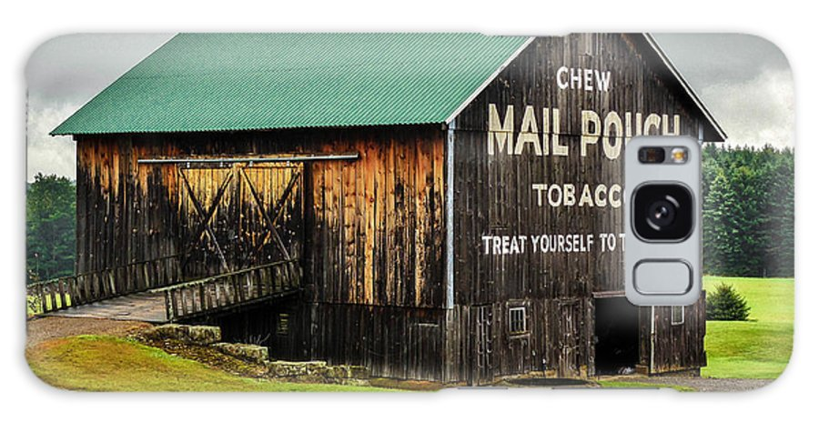 Barn Galaxy S8 Case featuring the photograph Mail Pouch Tobacco Barn by Anthony Thomas
