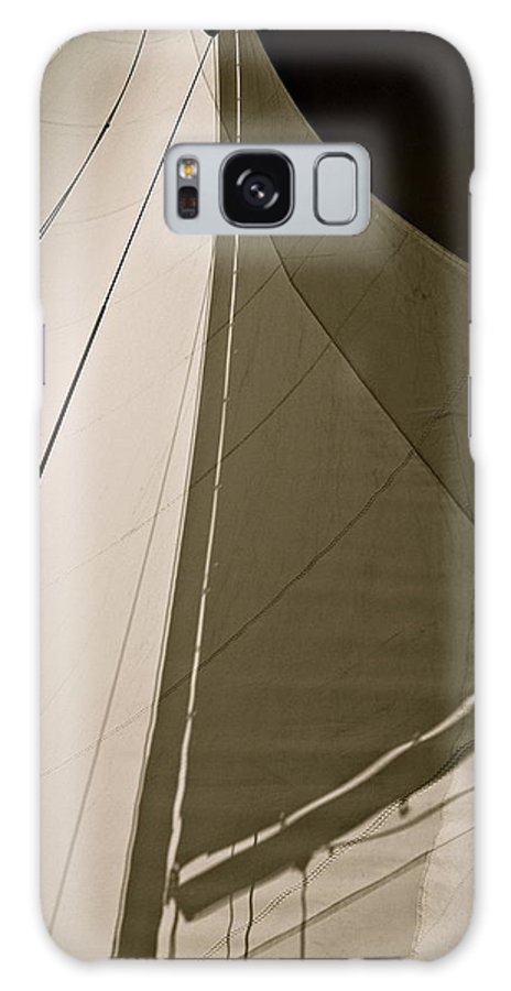 Sailing Galaxy S8 Case featuring the photograph Main Shadow by Kim Pippinger