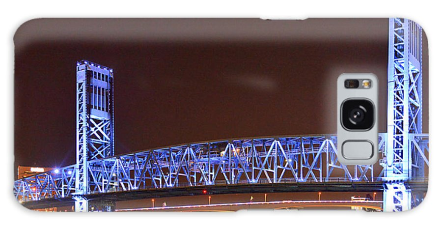 Main Galaxy S8 Case featuring the photograph Main Street Bridge Jacksonville by Christine Till