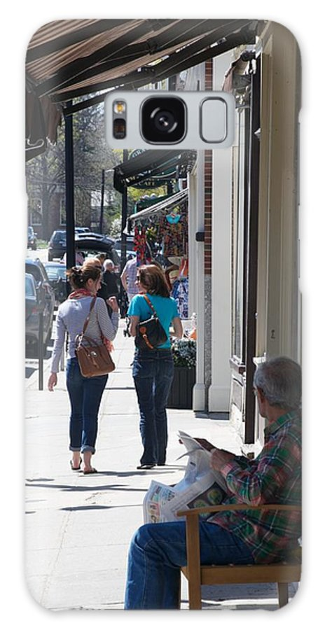 Concord Galaxy S8 Case featuring the photograph Main Street Concord by Allan Morrison
