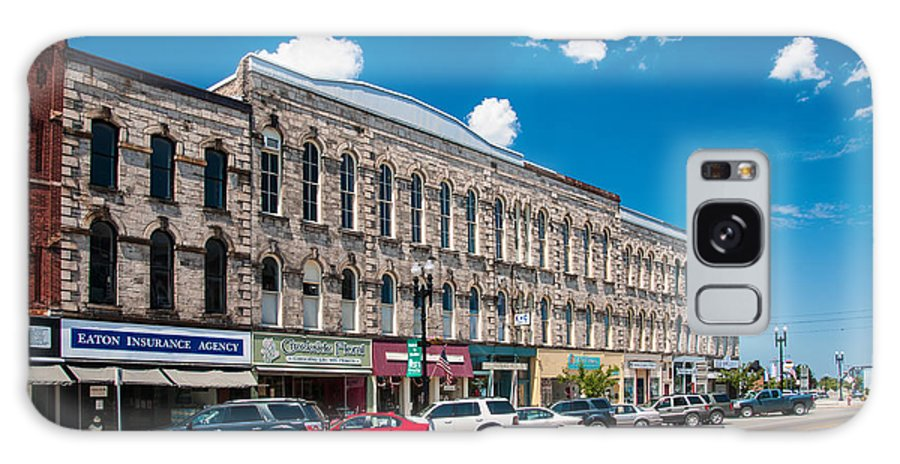 Buildings Galaxy S8 Case featuring the photograph Main Street Usa by Guy Whiteley
