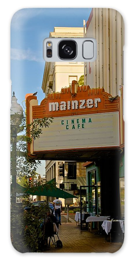 Merced Galaxy S8 Case featuring the photograph Mainzer Theater by Eric Tressler