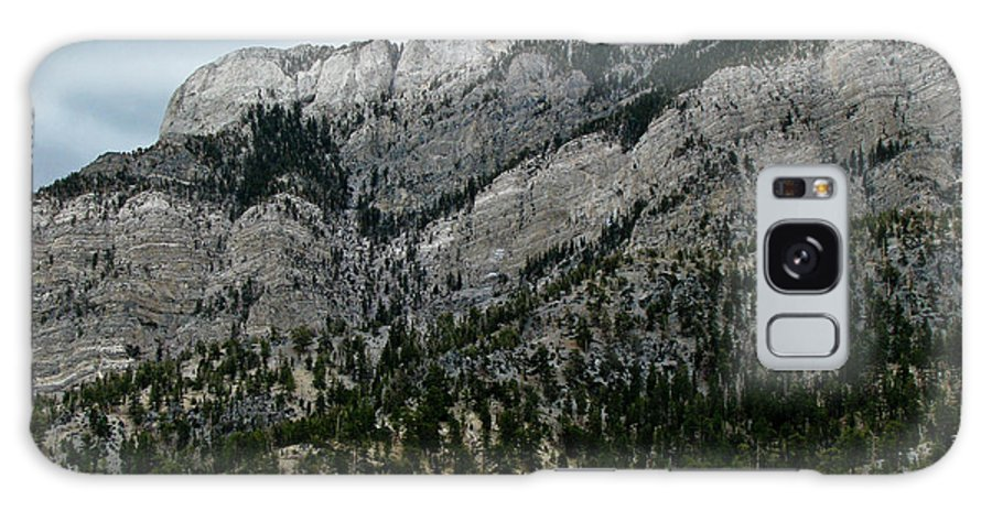 Mt. Charleston Galaxy S8 Case featuring the photograph Majestic Slope by Steve Purifoy