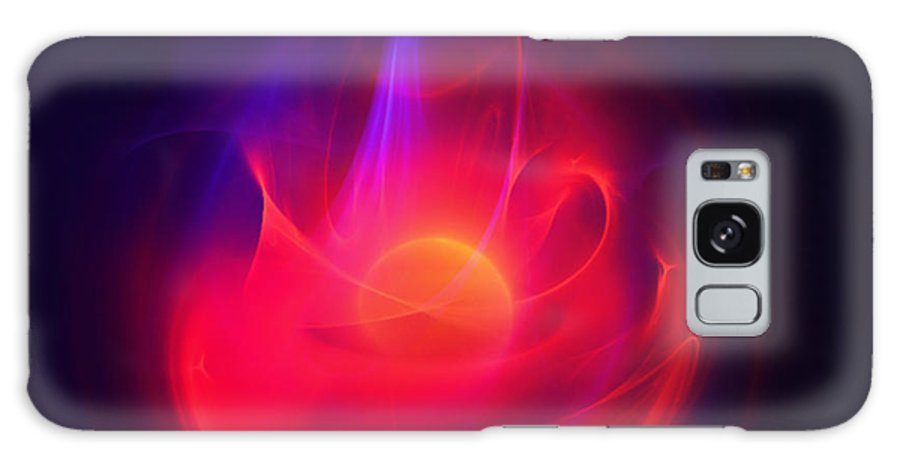 Making A Splash Galaxy S8 Case featuring the digital art Making A Splash by Elizabeth S Zulauf