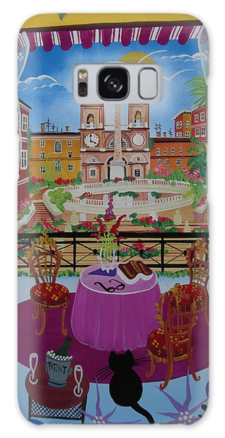 Spain Galaxy S8 Case featuring the photograph Mallorca, Spain, 2012 Acrylic On Canvas by Herbert Hofer