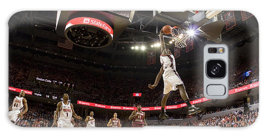 Athletics Galaxy S8 Case featuring the photograph Mamadi Diane Dunk Against Boston College by Jason O Watson