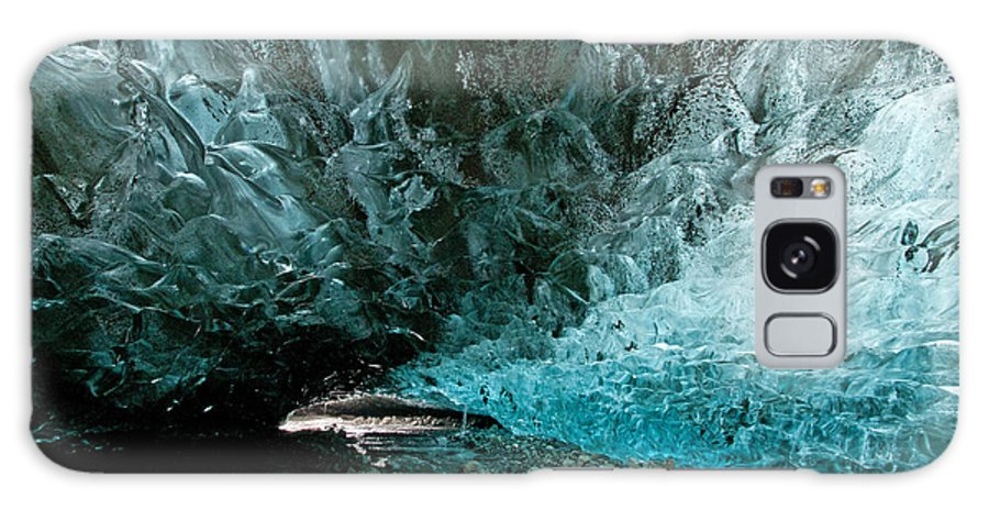 Ice Galaxy S8 Case featuring the photograph Man Cave by Jim Southwell