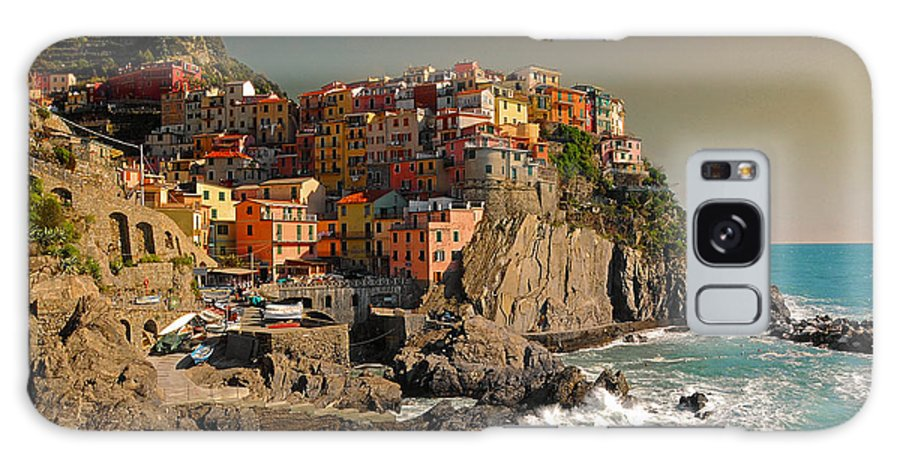 Italy Galaxy S8 Case featuring the photograph Manarola by Jim Southwell
