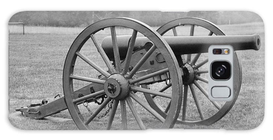 Battlefield Galaxy S8 Case featuring the photograph Manassas Battlefield Cannon by Christiane Schulze Art And Photography