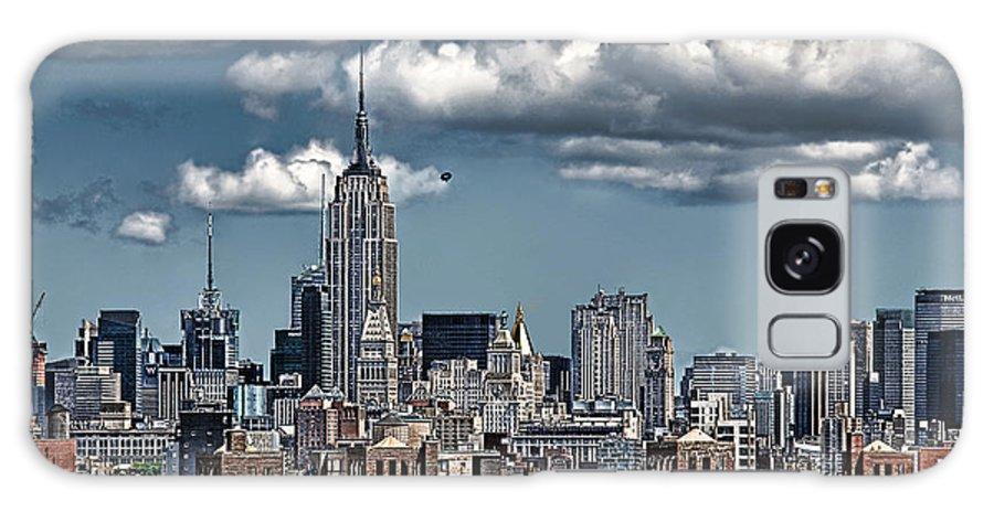 Nyc Galaxy S8 Case featuring the photograph Manhattan-skyline by Joachim G Pinkawa