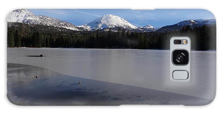 Manzanita Lake Galaxy S8 Case featuring the photograph Manzanita Winter Beauty by Kristina Lammers