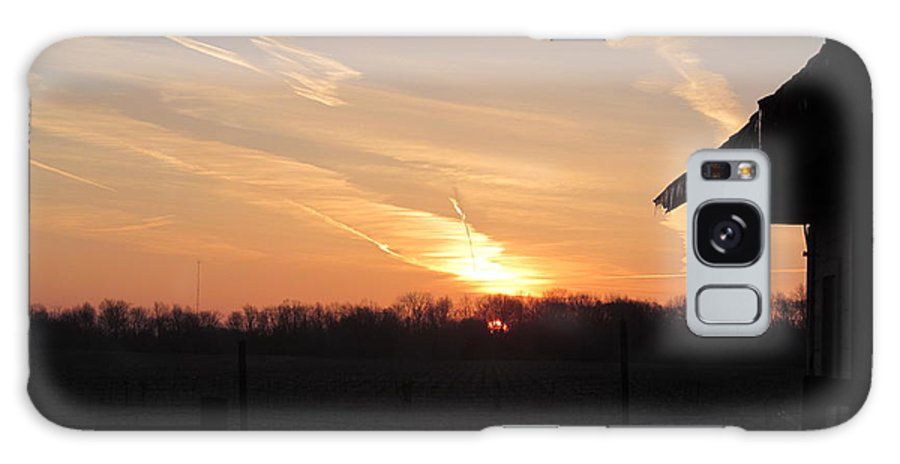 Sun Galaxy S8 Case featuring the photograph March 22 Countryside Sunrise by Tina M Wenger