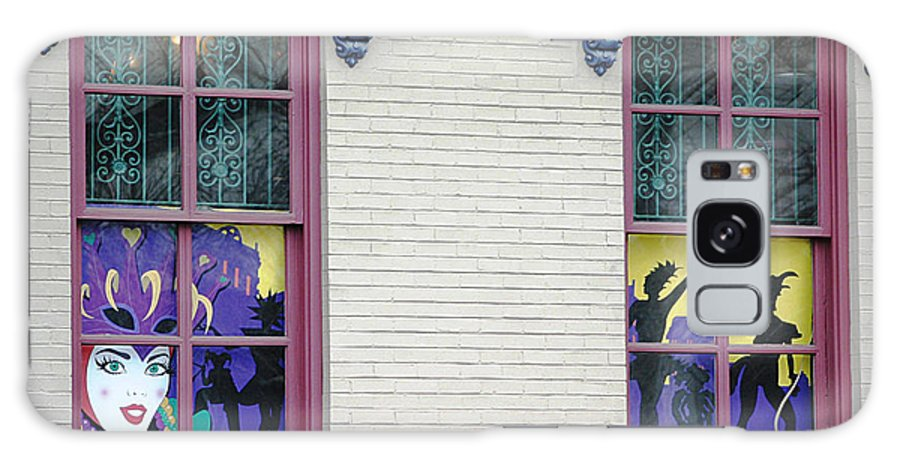 Windows Galaxy S8 Case featuring the photograph Mardi Gras Windows by Living Color Photography Lorraine Lynch