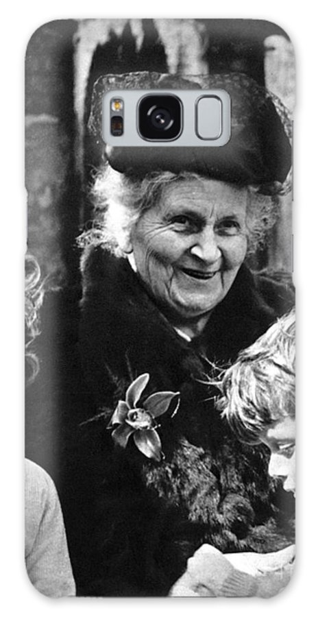 19th Century Galaxy Case featuring the photograph Maria Montessori by Granger