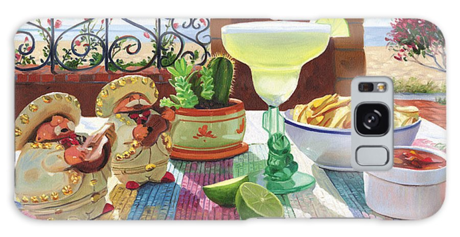 Cocktail Galaxy S8 Case featuring the painting Mariachi Margarita by Steve Simon