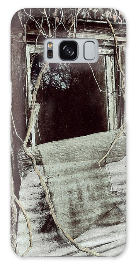 Window Galaxy S8 Case featuring the photograph Maria's Window by Marilyn Hunt