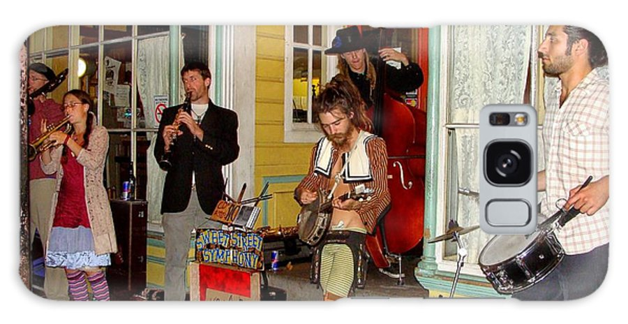 New Orleans Galaxy S8 Case featuring the photograph Marigny Musicians by Ed Weidman