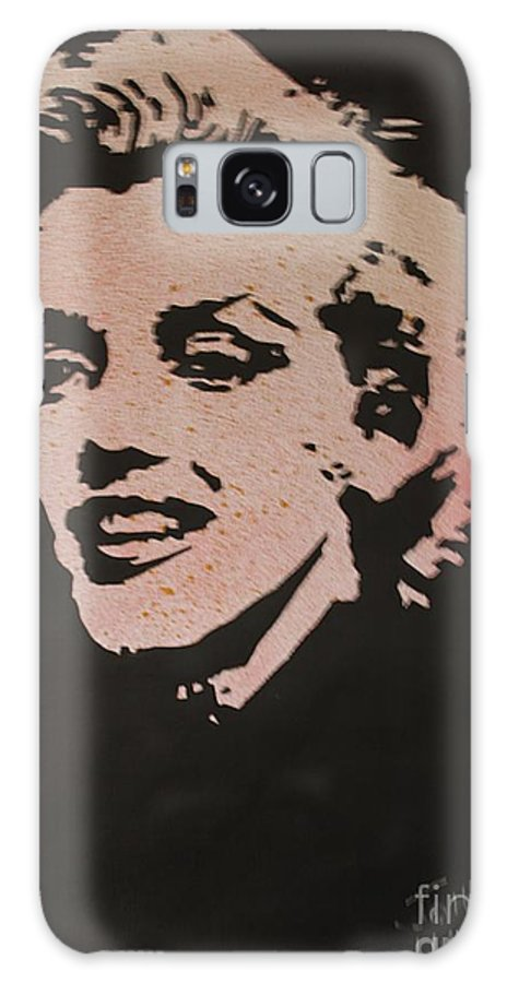 Marilyn Galaxy S8 Case featuring the painting Marilyn by John Halliday