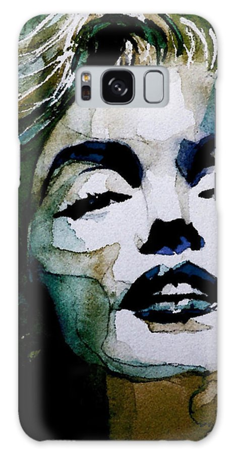 Marilyn Monroe . Legend Galaxy Case featuring the painting Marilyn no10 by Paul Lovering