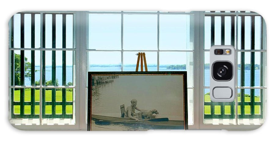 Rhode Island Galaxy S8 Case featuring the photograph Marjorie Van Wickle Naragansett by Caroline Stella